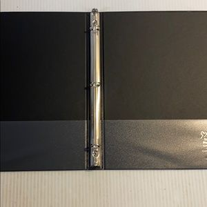 12 New 3 ring School Office Binders 5/8 inch Black